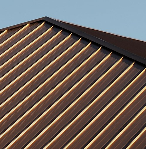 Metal Roof Material - Copper and Zinc