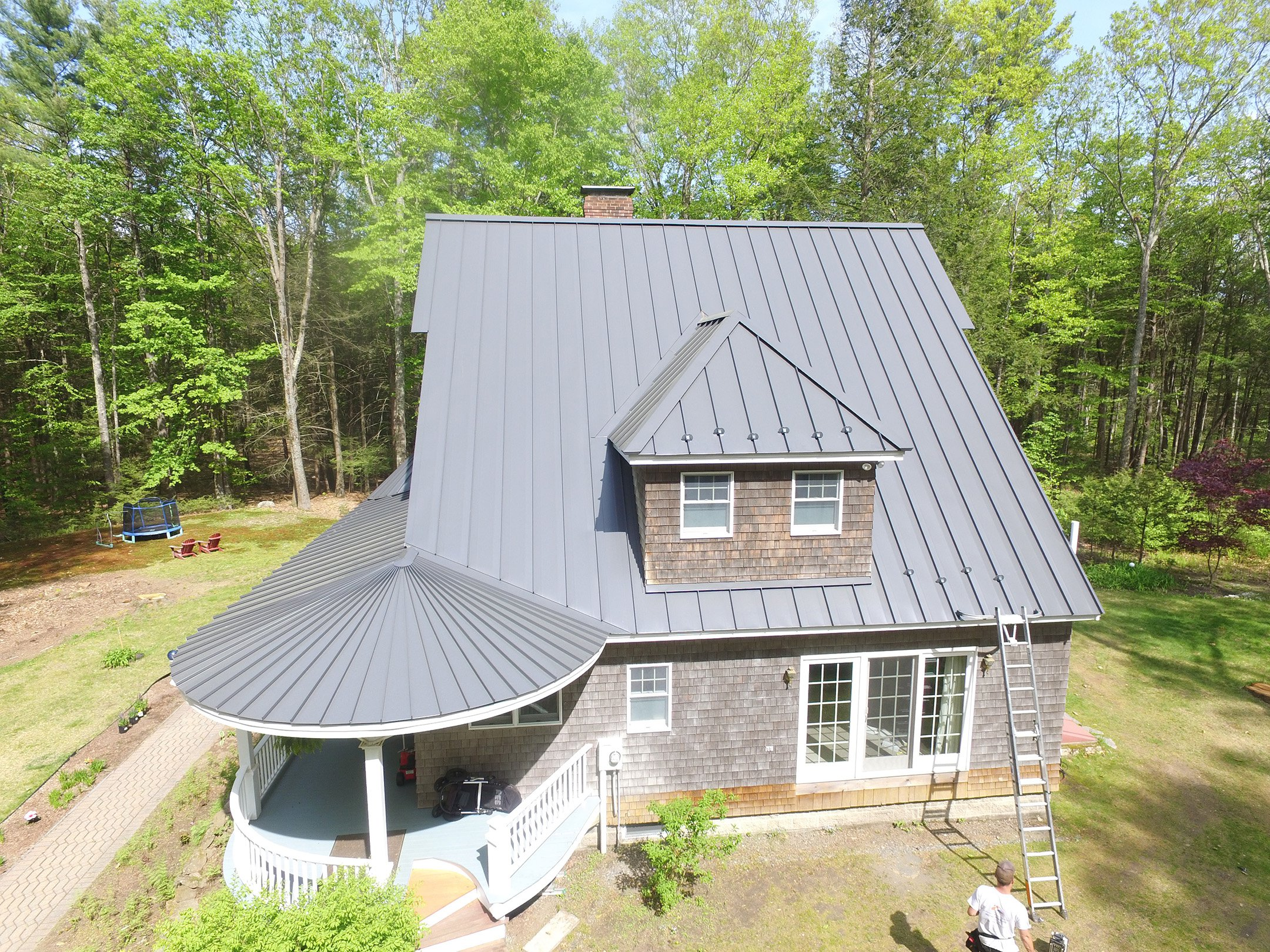 New England Drexel Metal Roof Project