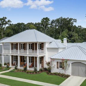 "<div><h4>McElroy Metal Medallion-Lok</h4><p><b>Manufacturer:</b> McElroy Metal, Inc.</p><p><b>Location:</b> Louisiana, US</p><p><b>Style:</b> Vertical Panel/Standing Seam</p><p><b>Material:</b> Steel</p><p><b>Color:</b> Gray</p><p><a href=""/gallery/image-detail/77/"" class=""link-arrow text-uppercase theme-color--orange"" data-toggle=""modal"" data-target=""#detailModal_gallery_image_grid_lamlejqhdgHs"">View More</a></p></div>"