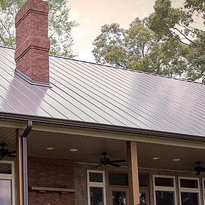 "<div><h4>Standing Seam - Perma-Lok</h4><p><b>Manufacturer:</b> Reed's Metals, Inc.</p><p><b>Style:</b> Vertical Panel/Standing Seam</p><p><b>Color:</b> Brown, Gray</p><p><a href=""/gallery/image-detail/674/"" class=""link-arrow text-uppercase theme-color--orange"" data-toggle=""modal"" data-target=""#detailModal_gallery_image_grid_lamlejqhdgHs"">View More</a></p></div>"